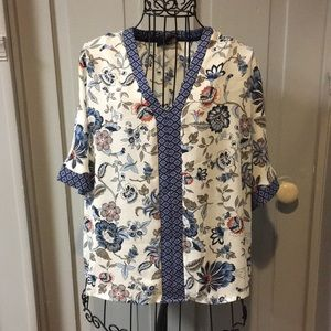 NWOT Anthropologie W5 Floral Blouse
